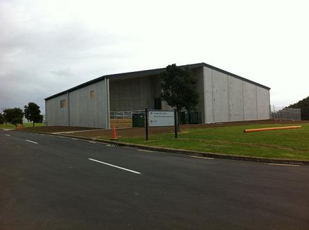 The University of Auckland's new data centre under construction in Tamaki, New Zealand.  The data centre is due to open in August 2012 and features 439 square metres of floor space and capacity for 80 racks.