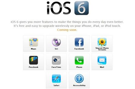 Not all of iOS 6's new features will be available in Australia.
