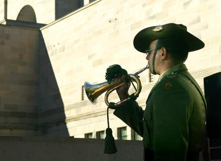 Army bulger at the Australian War Memorial. Photo by Steve Burton.