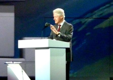 Bill Clinton addresses CES 2013