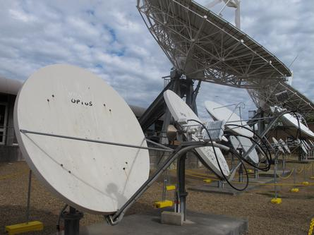 The Optus Satellite facility. Credit: Stephanie McDonald