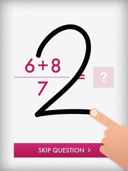 Quick Maths is the most downloaded app by Shiny Things. Credit: Shiny Things