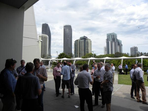 Lunch break at the Queensland Property Conference