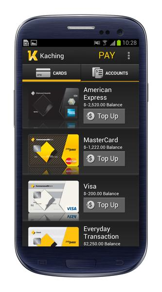 CommBank redesigned its Android app with user feedback. Credit: CommBank