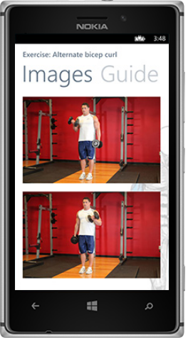 A look at Gym PocketGuide. Credit: Designer Technology