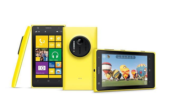 The Nokia Lumia 1020 Windows Phone.