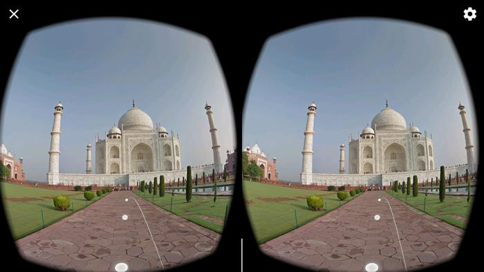 Walking up to the Taj Mahal is something else...