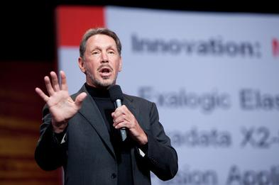 Oracle CEO, Larry Ellison, steps down as CEO, Catz, Hurd named co-CEOs
