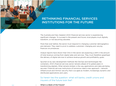 Rethinking Financial Services Institutions For The Future